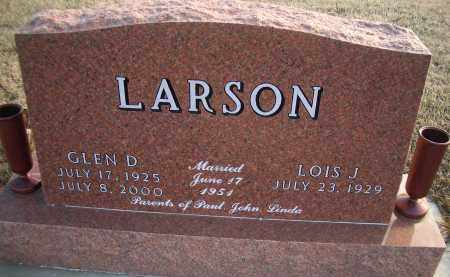 LARSON, GLEN D - Madison County, Nebraska | GLEN D LARSON - Nebraska Gravestone Photos