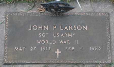 LARSON, JOHN P. - Madison County, Nebraska | JOHN P. LARSON - Nebraska Gravestone Photos