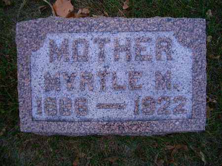 ANSON LEWIS, MYRTLE M - Madison County, Nebraska | MYRTLE M ANSON LEWIS - Nebraska Gravestone Photos