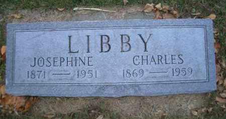 FULTON LIBBY, JOSEPHINE - Madison County, Nebraska | JOSEPHINE FULTON LIBBY - Nebraska Gravestone Photos