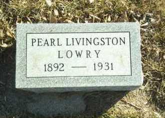 LOWRY, PEARL - Madison County, Nebraska | PEARL LOWRY - Nebraska Gravestone Photos
