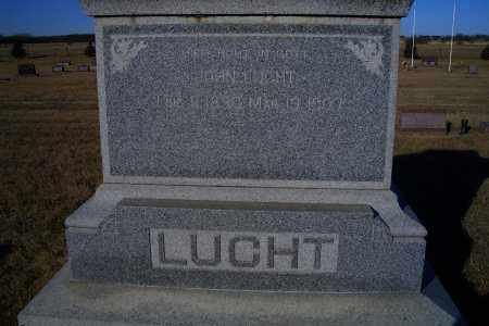 LUCHT, JOHN - Madison County, Nebraska | JOHN LUCHT - Nebraska Gravestone Photos
