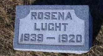 LUCHT, ROSENA - Madison County, Nebraska | ROSENA LUCHT - Nebraska Gravestone Photos