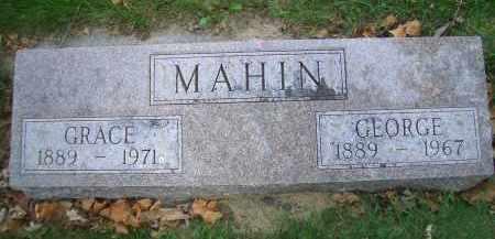 MAHIN, GEORGE - Madison County, Nebraska | GEORGE MAHIN - Nebraska Gravestone Photos
