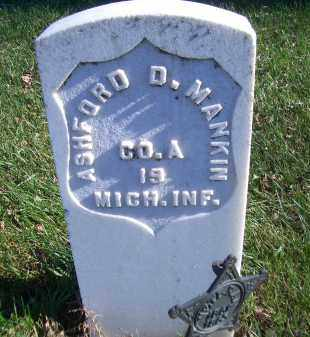 MANKIN, ASHFORD D - Madison County, Nebraska   ASHFORD D MANKIN - Nebraska Gravestone Photos