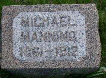MANNING, MICHAEL - Madison County, Nebraska | MICHAEL MANNING - Nebraska Gravestone Photos