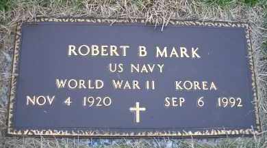 MARK, ROBERT B. - Madison County, Nebraska | ROBERT B. MARK - Nebraska Gravestone Photos