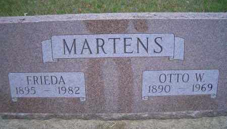 MARTENS, FRIEDA - Madison County, Nebraska | FRIEDA MARTENS - Nebraska Gravestone Photos