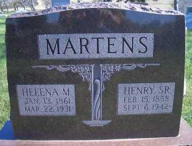 MARTENS, HELENA M - Madison County, Nebraska | HELENA M MARTENS - Nebraska Gravestone Photos