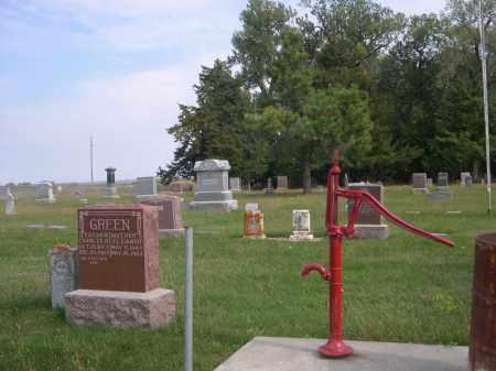 *MCCOY CEMETERY, VIEW OF - Madison County, Nebraska   VIEW OF *MCCOY CEMETERY - Nebraska Gravestone Photos