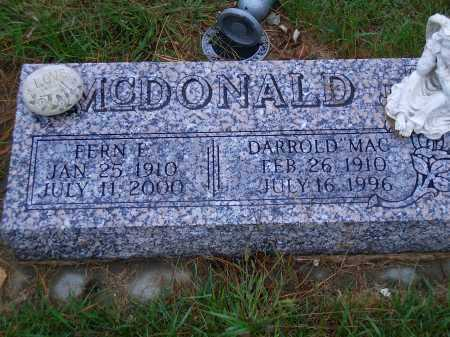 "MCDONALD, DARROLD  ""MAC"" - Madison County, Nebraska 