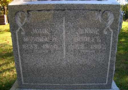 MCDONALD, JOHN - Madison County, Nebraska | JOHN MCDONALD - Nebraska Gravestone Photos