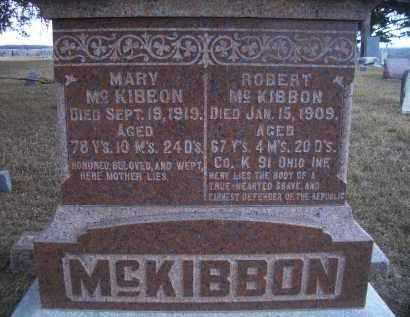 MCKIBBON, ROBERT - Madison County, Nebraska | ROBERT MCKIBBON - Nebraska Gravestone Photos