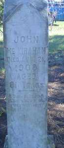 MCKIRAHAN, JOHN - Madison County, Nebraska | JOHN MCKIRAHAN - Nebraska Gravestone Photos
