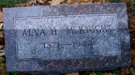 MCKNIGHT, ALVA H - Madison County, Nebraska | ALVA H MCKNIGHT - Nebraska Gravestone Photos