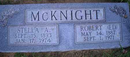 MCKNIGHT, ROBERT (ED) - Madison County, Nebraska | ROBERT (ED) MCKNIGHT - Nebraska Gravestone Photos