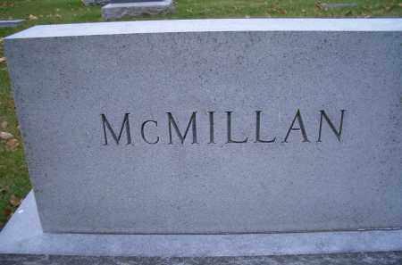 MCMILLAN, FAMILY HEADSTONE - Madison County, Nebraska | FAMILY HEADSTONE MCMILLAN - Nebraska Gravestone Photos