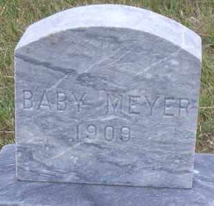 MEYER, BABY - Madison County, Nebraska   BABY MEYER - Nebraska Gravestone Photos