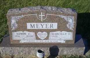 MEYER, EDWIN C. - Madison County, Nebraska | EDWIN C. MEYER - Nebraska Gravestone Photos