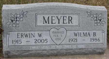 MEYER, ERWIN W. - Madison County, Nebraska | ERWIN W. MEYER - Nebraska Gravestone Photos