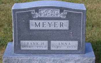 MEYER, FRANK H. - Madison County, Nebraska | FRANK H. MEYER - Nebraska Gravestone Photos
