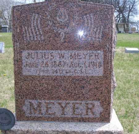 MEYER, JULIUS W - Madison County, Nebraska | JULIUS W MEYER - Nebraska Gravestone Photos