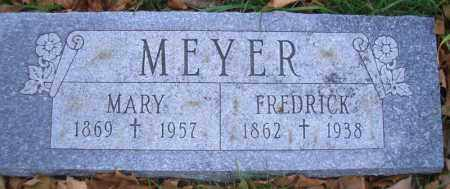 MEYER, FREDRICK - Madison County, Nebraska | FREDRICK MEYER - Nebraska Gravestone Photos
