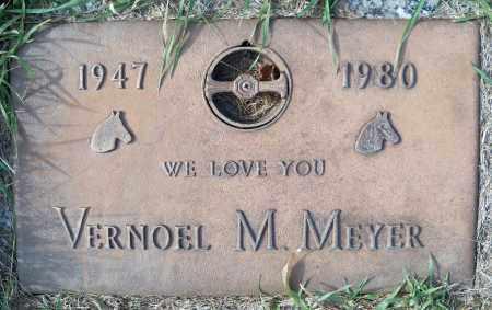 MEYER, VERNOEL M - Madison County, Nebraska   VERNOEL M MEYER - Nebraska Gravestone Photos