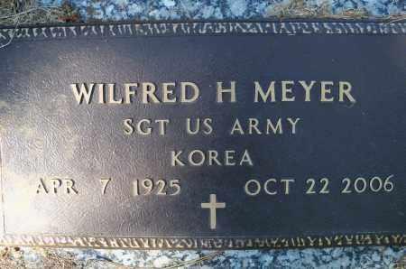 MEYER, WILFRED H (KOREA) - Madison County, Nebraska | WILFRED H (KOREA) MEYER - Nebraska Gravestone Photos