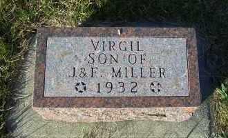 MILLER, VIRGIL - Madison County, Nebraska | VIRGIL MILLER - Nebraska Gravestone Photos
