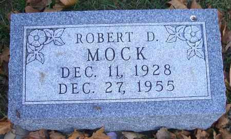 MOCK, ROBERT D - Madison County, Nebraska | ROBERT D MOCK - Nebraska Gravestone Photos