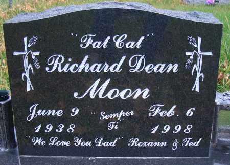 MOON, RICHARD DEAN - Madison County, Nebraska | RICHARD DEAN MOON - Nebraska Gravestone Photos
