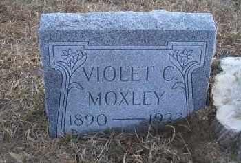 MOXLEY, VIOLET C. - Madison County, Nebraska | VIOLET C. MOXLEY - Nebraska Gravestone Photos