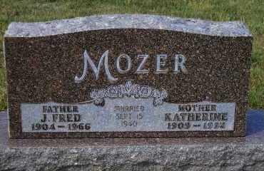 MOZER, KATHERINE - Madison County, Nebraska | KATHERINE MOZER - Nebraska Gravestone Photos