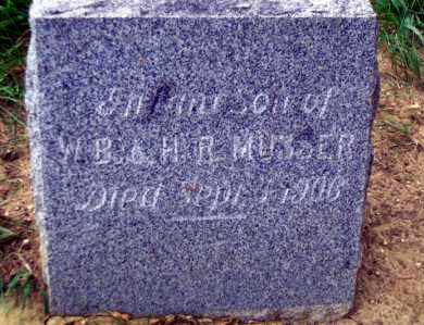MUSSER, INFANT SON - Madison County, Nebraska | INFANT SON MUSSER - Nebraska Gravestone Photos