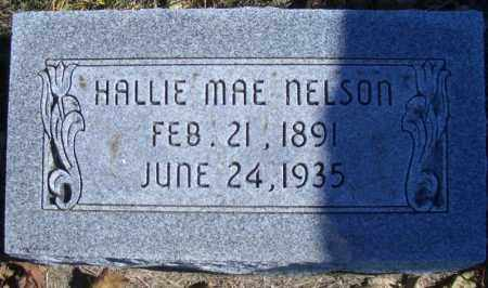CORNETT NELSON, HALLIE MAE - Madison County, Nebraska | HALLIE MAE CORNETT NELSON - Nebraska Gravestone Photos