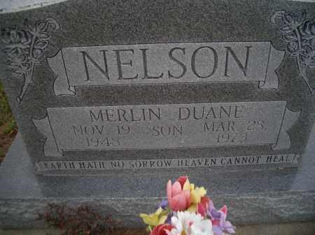 NELSON, MERLIN DUANE - Madison County, Nebraska | MERLIN DUANE NELSON - Nebraska Gravestone Photos