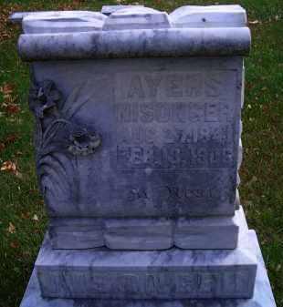 NISONGER, AYERS - Madison County, Nebraska | AYERS NISONGER - Nebraska Gravestone Photos