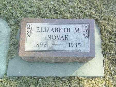 NOVAK, ELIZABETH - Madison County, Nebraska   ELIZABETH NOVAK - Nebraska Gravestone Photos