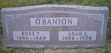 ANDERSON O'BANION, ADAH E - Madison County, Nebraska | ADAH E ANDERSON O'BANION - Nebraska Gravestone Photos