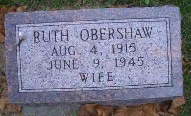 JOCKINS OBERSHAW, RUTH - Madison County, Nebraska   RUTH JOCKINS OBERSHAW - Nebraska Gravestone Photos