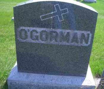 O'GORMAN, FAMILY HEADSTONE - Madison County, Nebraska | FAMILY HEADSTONE O'GORMAN - Nebraska Gravestone Photos
