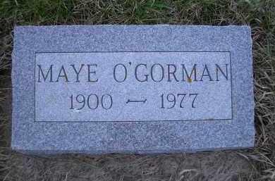 O'GORMAN, MAYE - Madison County, Nebraska   MAYE O'GORMAN - Nebraska Gravestone Photos