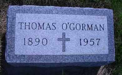 O'GORMAN, THOMAS - Madison County, Nebraska | THOMAS O'GORMAN - Nebraska Gravestone Photos