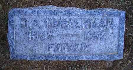 OMMERMAN, DAVID ALPHIUS - Madison County, Nebraska | DAVID ALPHIUS OMMERMAN - Nebraska Gravestone Photos