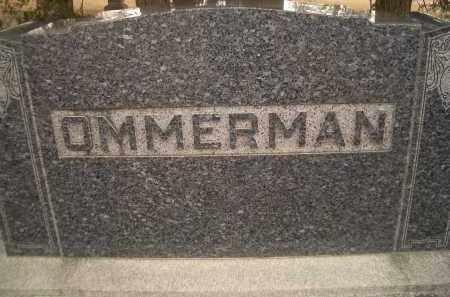 OMMERMAN, FAMILY HEADSTONE - Madison County, Nebraska | FAMILY HEADSTONE OMMERMAN - Nebraska Gravestone Photos