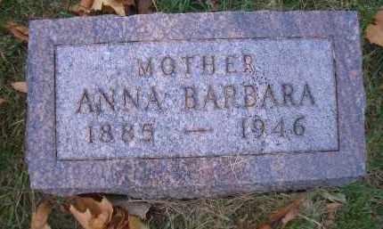 OPPLIGER, ANNA BARBARA - Madison County, Nebraska   ANNA BARBARA OPPLIGER - Nebraska Gravestone Photos