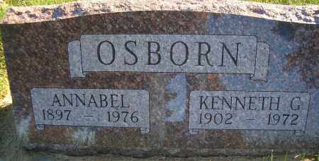 OSBORN, ANNABEL - Madison County, Nebraska | ANNABEL OSBORN - Nebraska Gravestone Photos