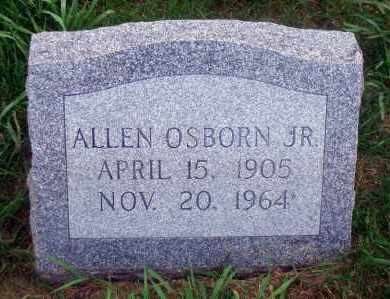 OSBORN, ALLEN, JR. - Madison County, Nebraska | ALLEN, JR. OSBORN - Nebraska Gravestone Photos