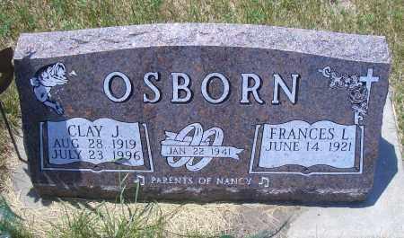 OSBORN, CLAY J - Madison County, Nebraska   CLAY J OSBORN - Nebraska Gravestone Photos